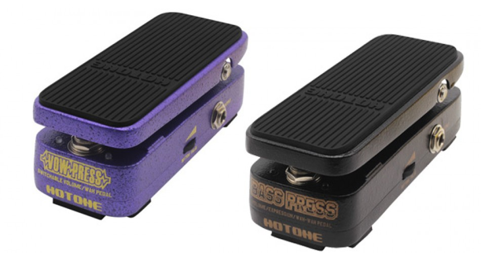 Hotone announce two new micro wah wah pedals
