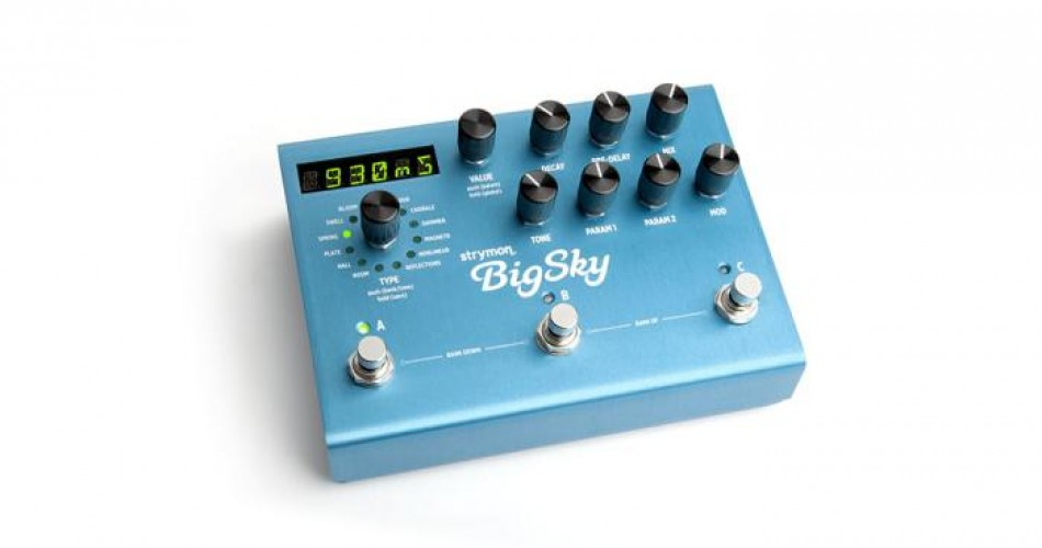Strymon BigSky wins award!