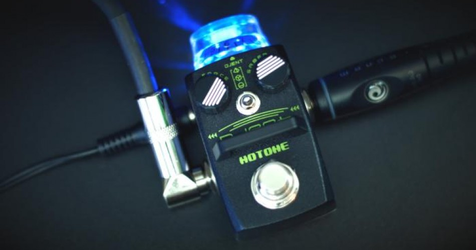 Djent distortion pedal