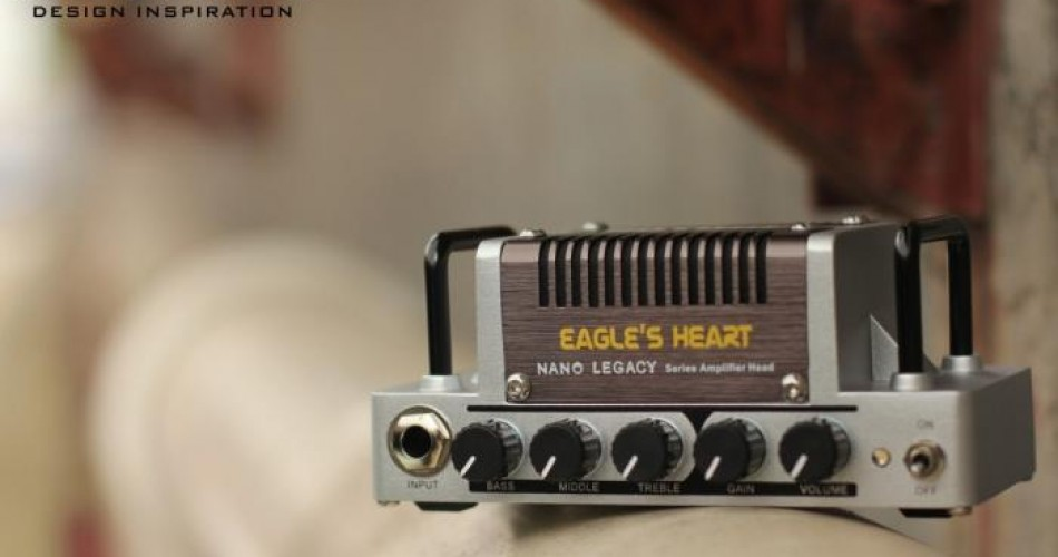 Eagles Heart: Tiny amp-head inspired by ENGL Savage 120