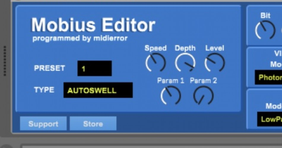 Max for Live editor for Strymon Mobius now available