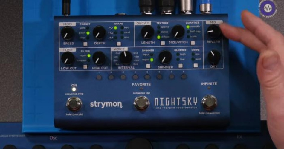 SonicState put Strymon Night Sky under the Microscope