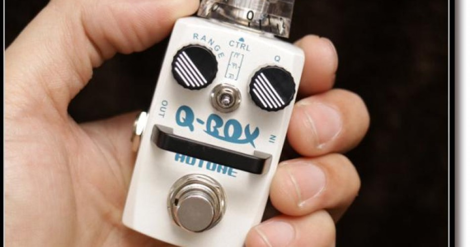 "Hotone's tiny ""Fat Buffer"" and ""Q-Box"" stompboxes are now available"