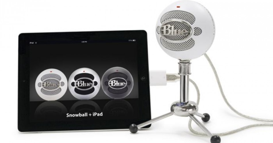 Get studio sound on your iPad with Snowball, Yeti
