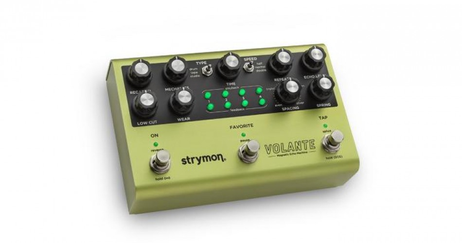 Volante: The new delay pedal from Strymon