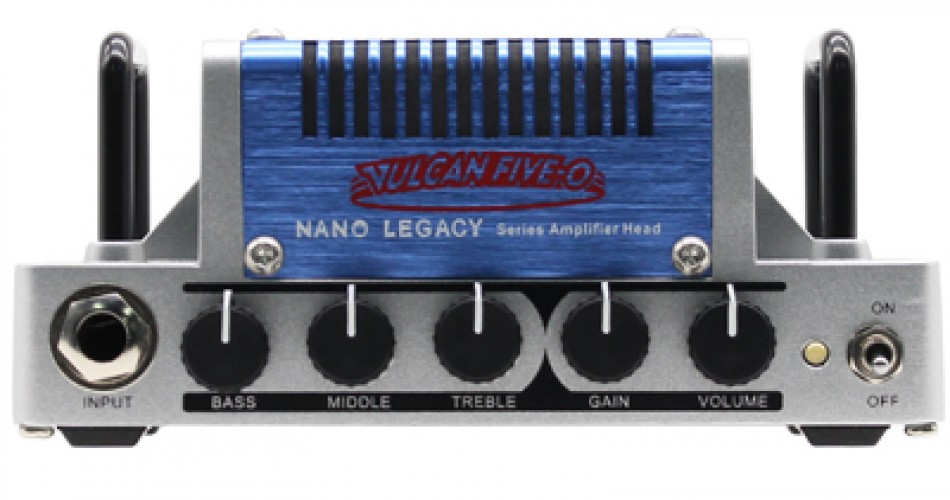 Vulcan 5-0: Micro amp-head inspired by the Peavey 5150