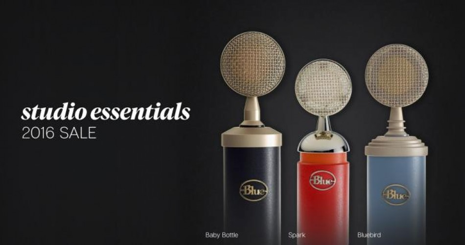 Blue Mics Essential Series on special offer