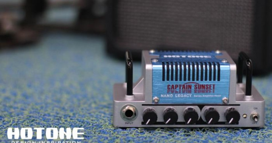 Captain Sunset: Micro amp-head that's inspired by the Soldano SLO 100