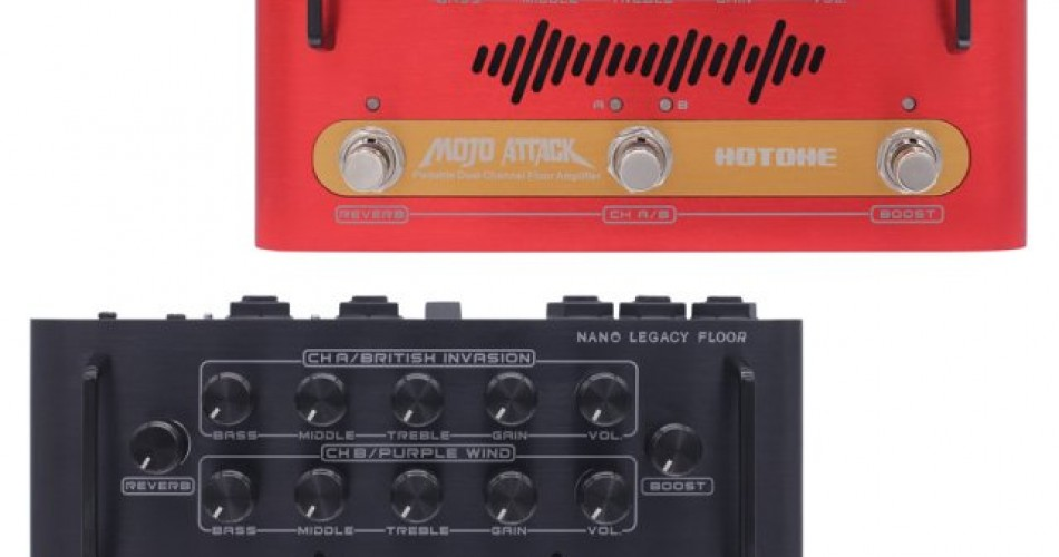 Hotone launch two micro-amp stompboxes