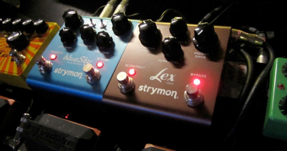Steve Lukather converts to Strymon