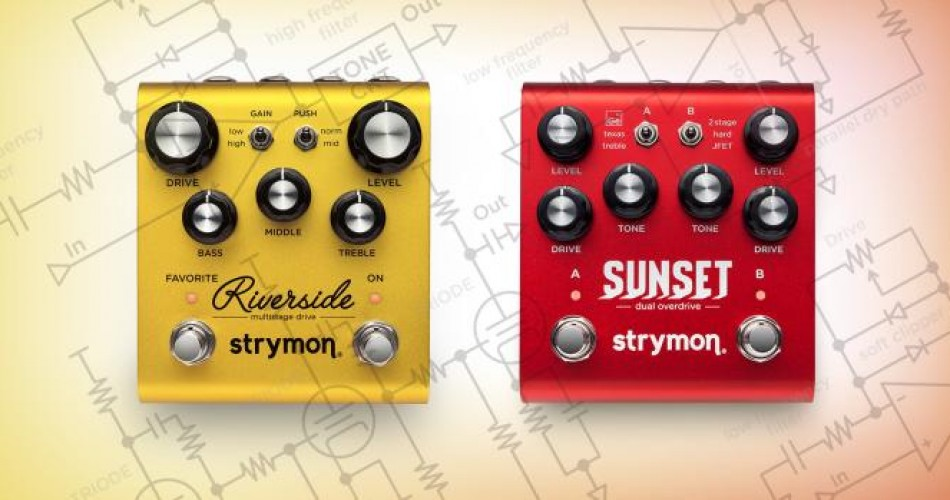 Strymon Riverside vs Strymon Sunset